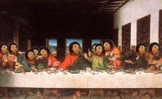jesus fresco last supper