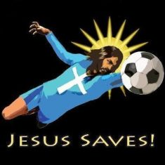 JesusSavesSoccerSquare