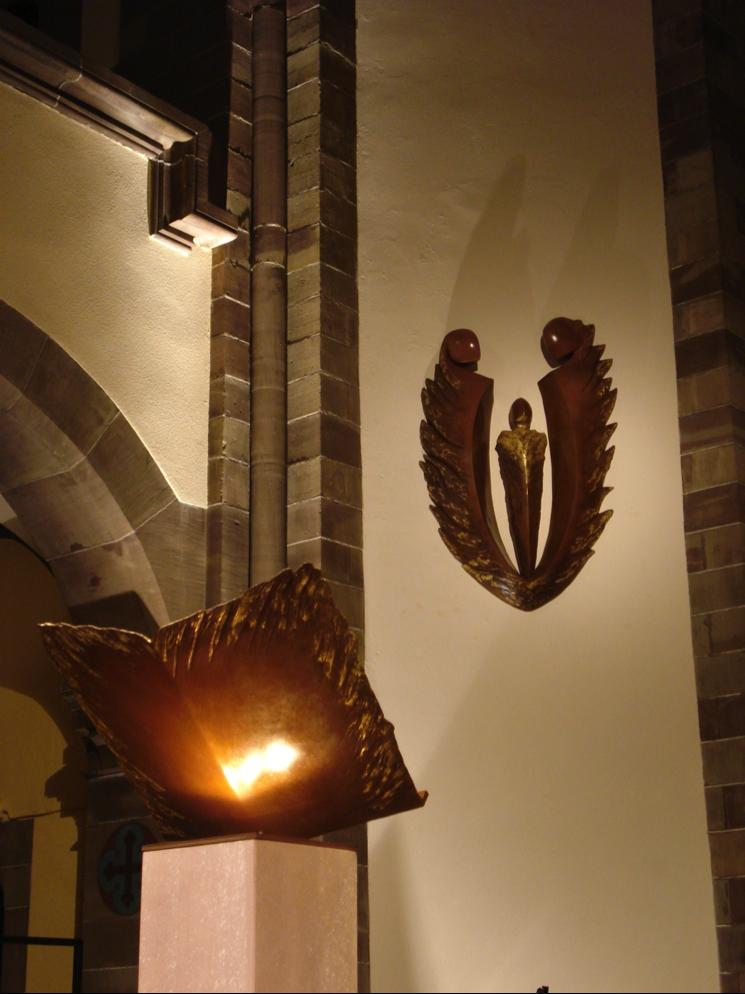 Fleur Nabert, ambon et Sainte Famille (Schiltigheim)