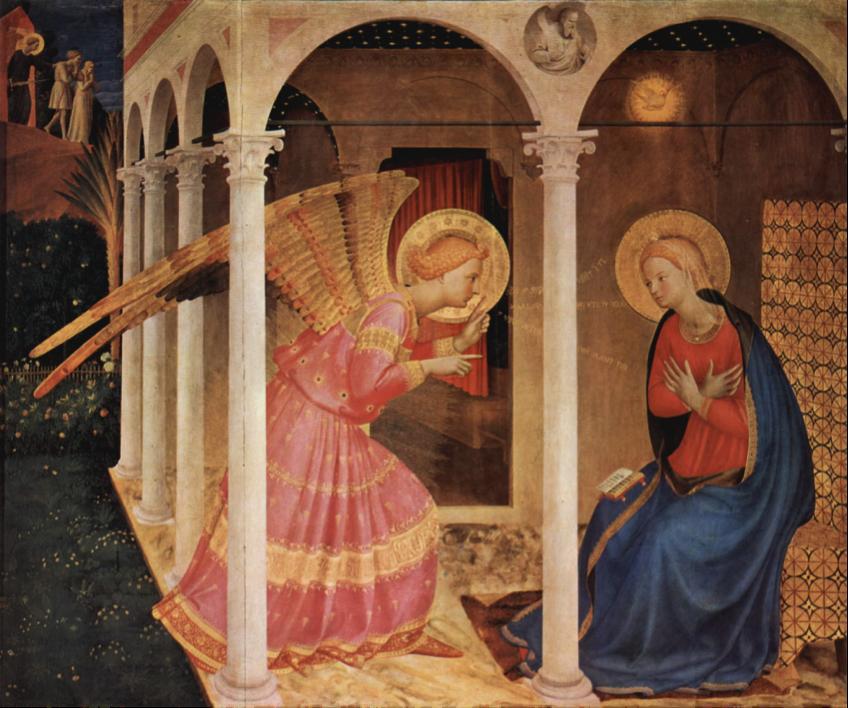 Fra Angelico, Annonciation (Cortone)