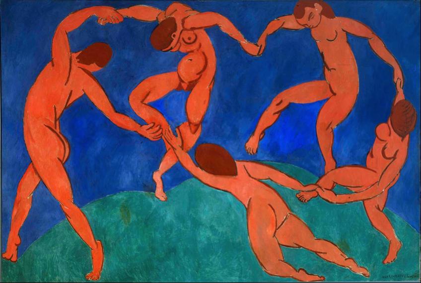 Henri Matisse, La Danse (1910), Musée de l'Ermitage