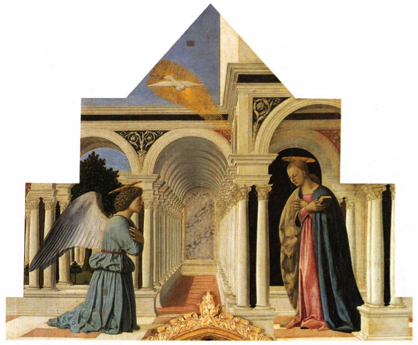 Piero della Francesca, Annonciation