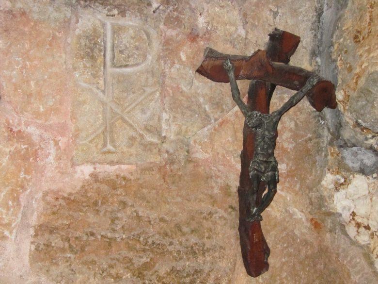 Grotte de saint Jérôme, à Bethléem