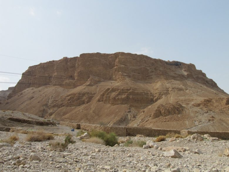 Massada, ou l'anti-Golgotha, où un roi monte s'enfermer pour protéger sa vie